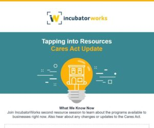 Tapping into Resources: CARES Act Update